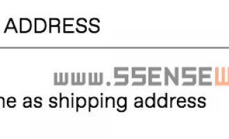 """SSENSE账单地址""""BILLING ADDRESS""""填写教程"""