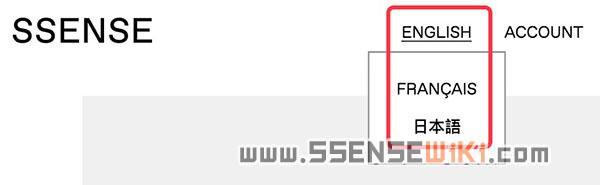 SSENSE直邮到中国,暂不支持中文版