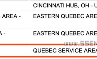 SSENSE发货地从哪发货?在加拿大魁北克省